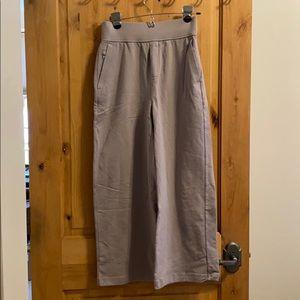 lululemon lab wide leg crop pants